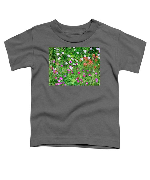 Wild Color Patch Toddler T-Shirt