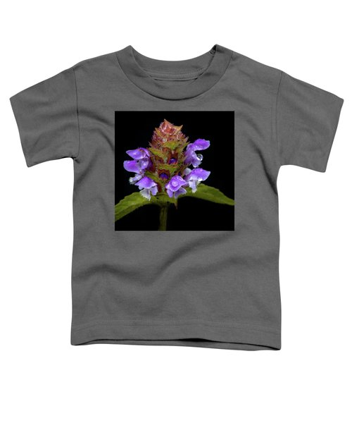 Wild Flower Portrait Toddler T-Shirt