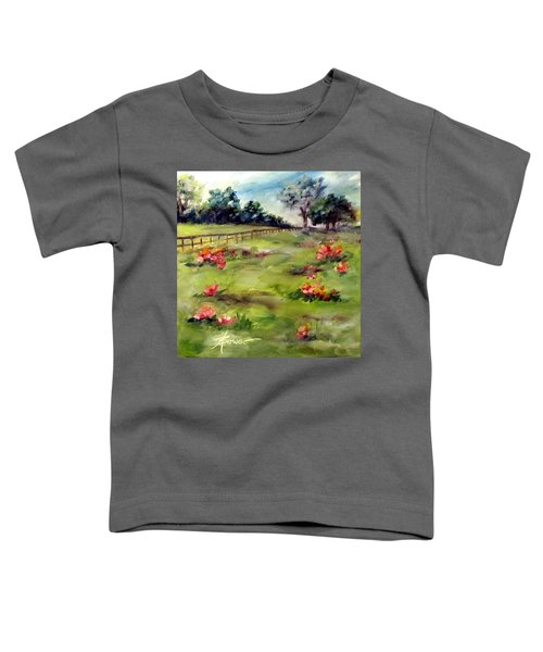 Texas Wild Flower Road Trip  Toddler T-Shirt