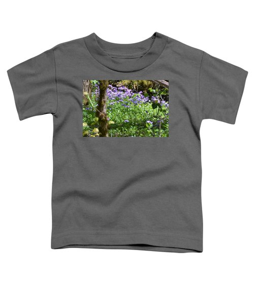 Wild Flowers On A Hike Toddler T-Shirt