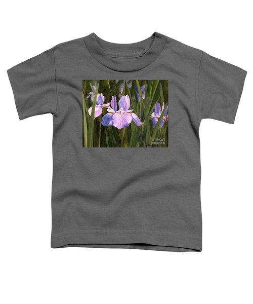 Wild Iris Toddler T-Shirt