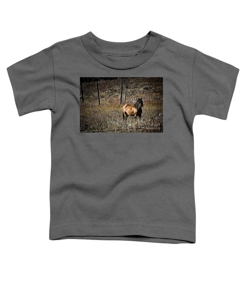 Wild Mustang Toddler T-Shirt