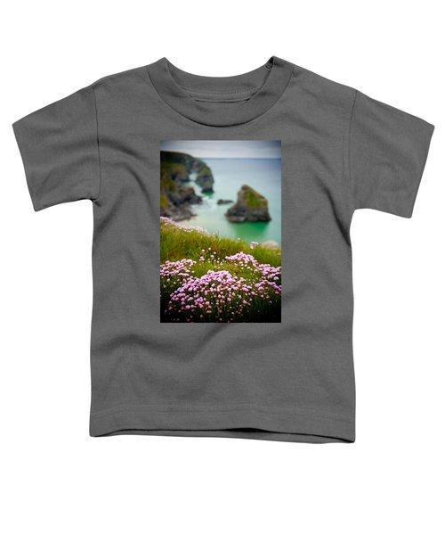 Wild Sea Pinks In Cornwall Toddler T-Shirt
