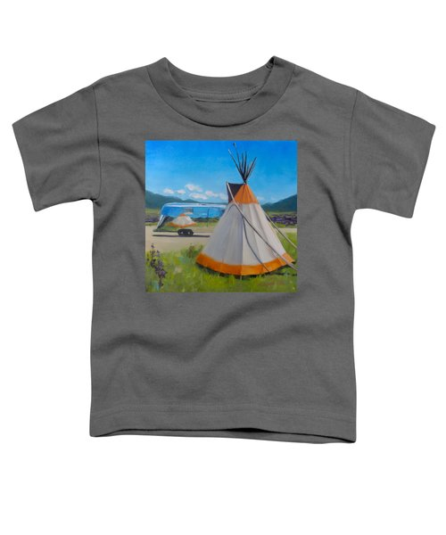 Wildflowers In Angel Fire Toddler T-Shirt