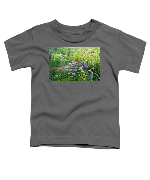 Wildflowers In Moraine Hills State Park Toddler T-Shirt