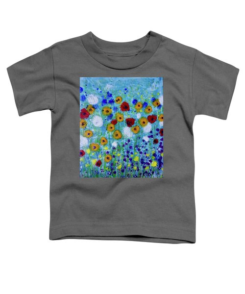 Wildflowers Never Fade Toddler T-Shirt