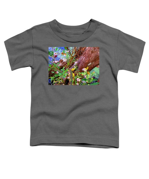 Wildflowers On A Cypress Knee Toddler T-Shirt
