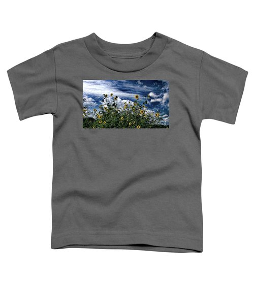 Wildflowers On The Brazos Toddler T-Shirt