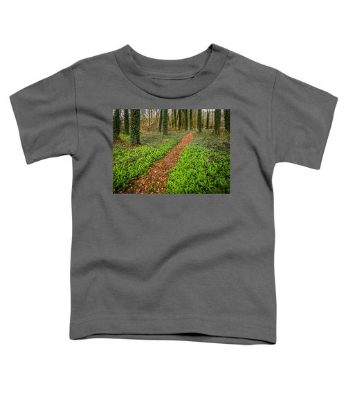 Toddler T-Shirt featuring the photograph William Butler Yeats Woods Of Coole Park by James Truett