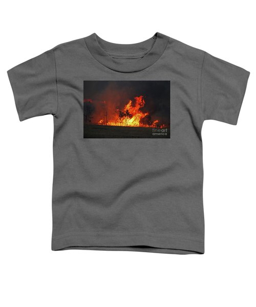 Wildfire Flames Toddler T-Shirt