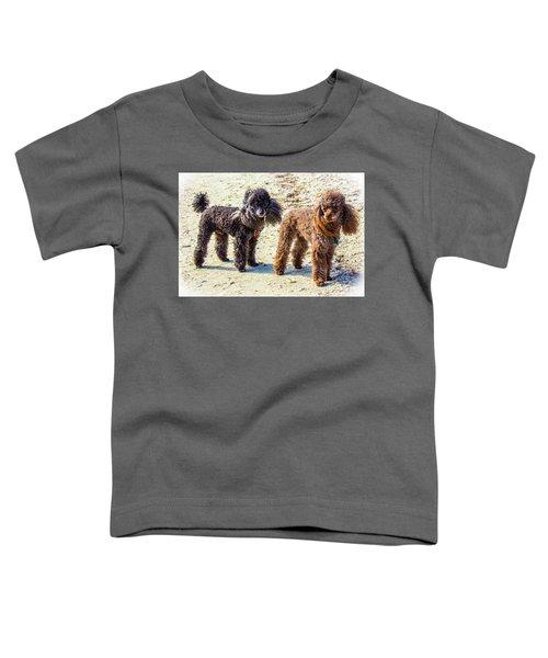 Windblown Beach Bums Toddler T-Shirt