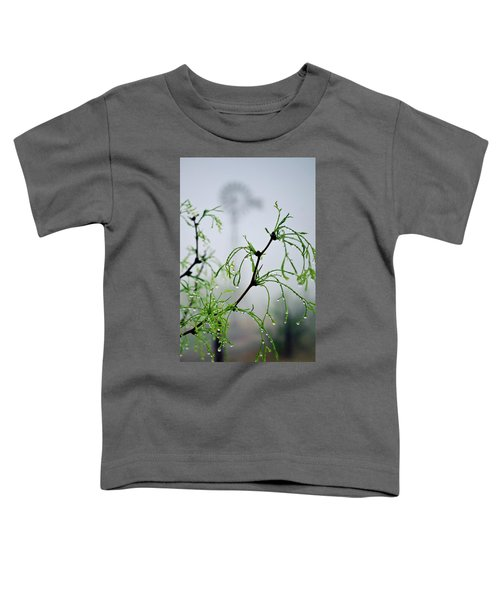 Windmill In The Mist Toddler T-Shirt