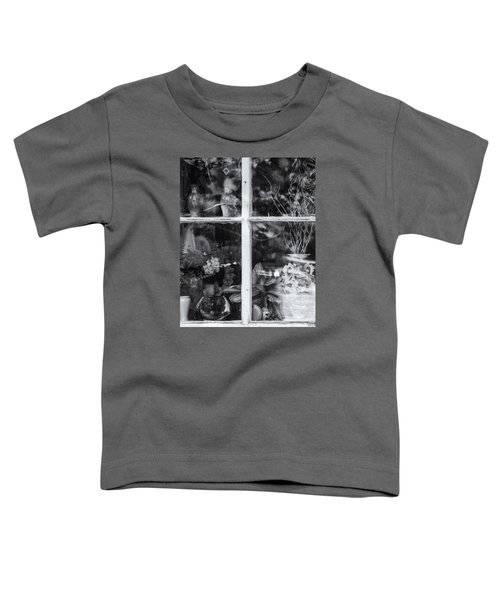 Window In Black And White Toddler T-Shirt