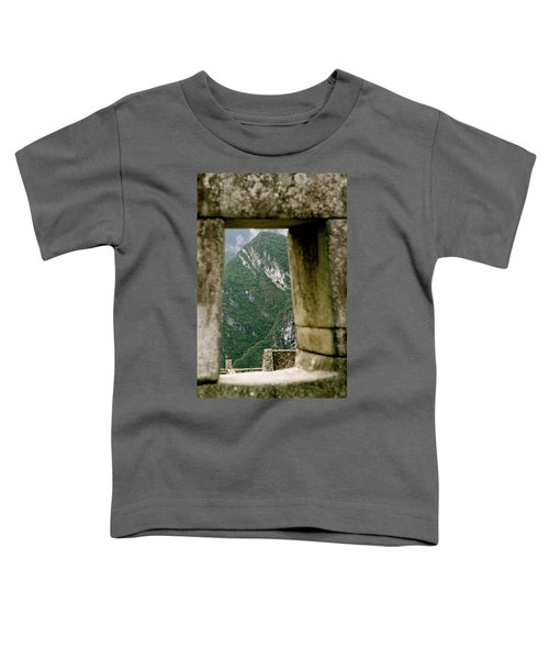 Window To The Gifts Of The Pachamama Toddler T-Shirt