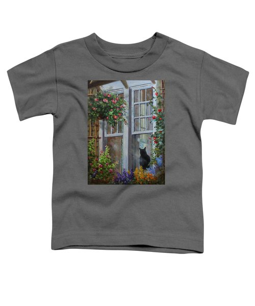 Window Watcher Toddler T-Shirt