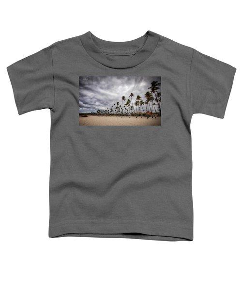 Windy Beach Toddler T-Shirt