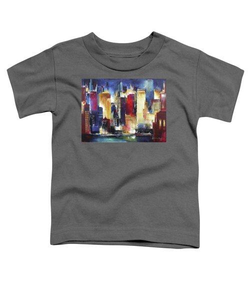 Windy City Nights Toddler T-Shirt