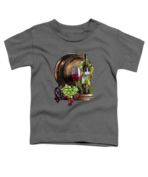 Wine Cellar Toddler T-Shirt
