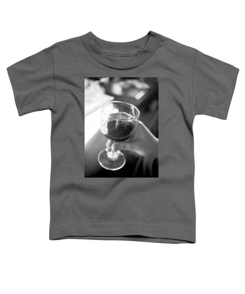 Wine In Hand Toddler T-Shirt