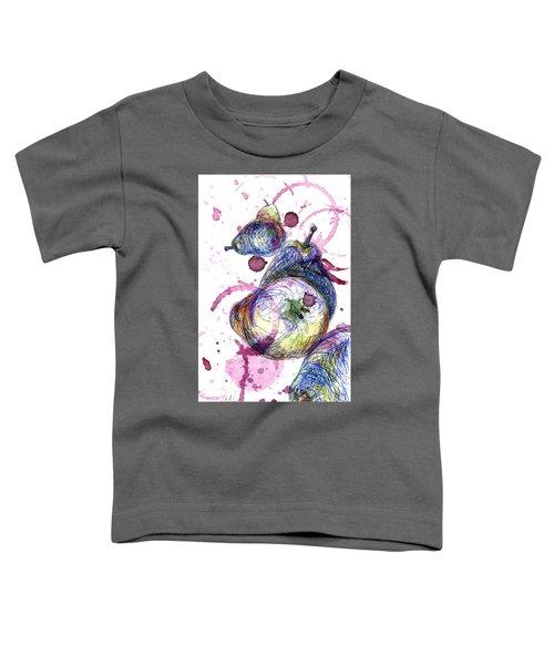 Wine Pearing Toddler T-Shirt
