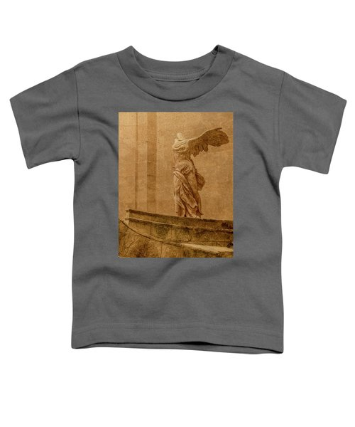 Paris, France - Louvre - Winged Victory Toddler T-Shirt