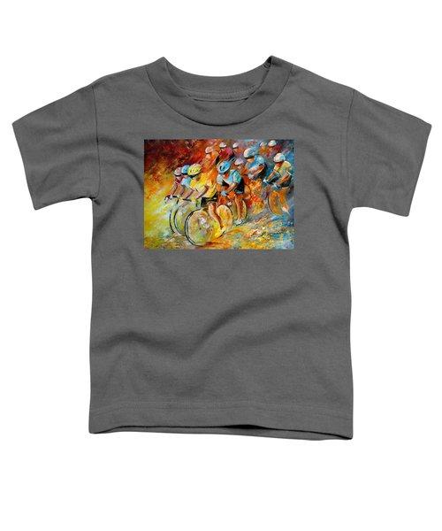 Winning The Tour De France Toddler T-Shirt