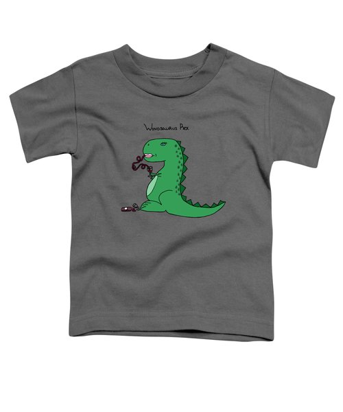 Winosaurus Rex Toddler T-Shirt by Tamera Dion