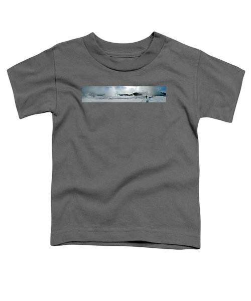 Winter At Grand Prismatic Toddler T-Shirt