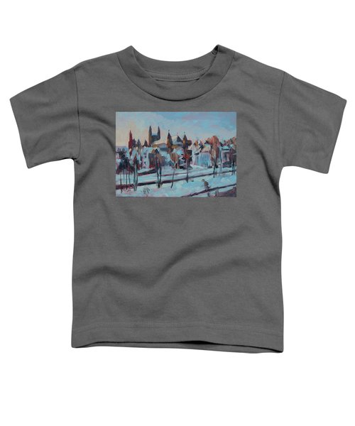 Winter Basilica Our Lady Maastricht Toddler T-Shirt