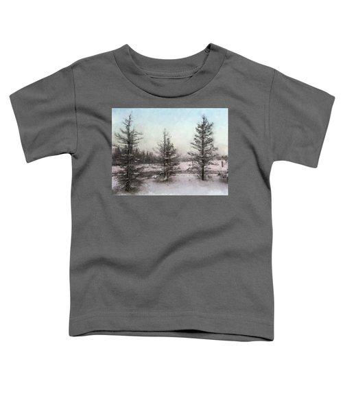 Winter Begins Toddler T-Shirt