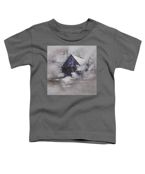 Winter Cottage Toddler T-Shirt