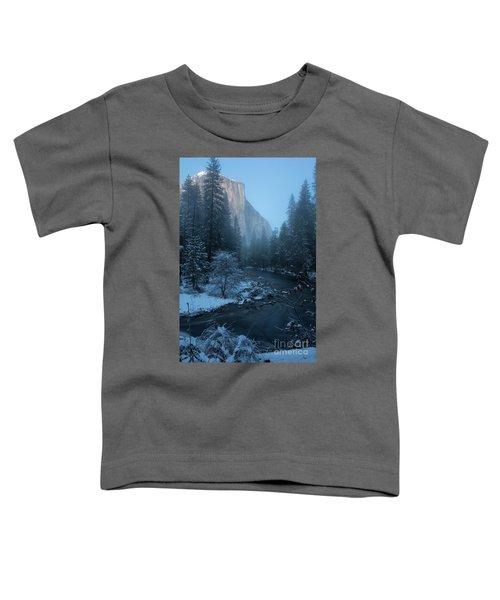 Winter El Cap  Toddler T-Shirt