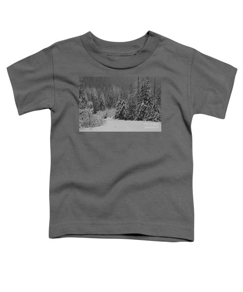 Toddler T-Shirt featuring the photograph Winter Fairy Tale by Yulia Kazansky
