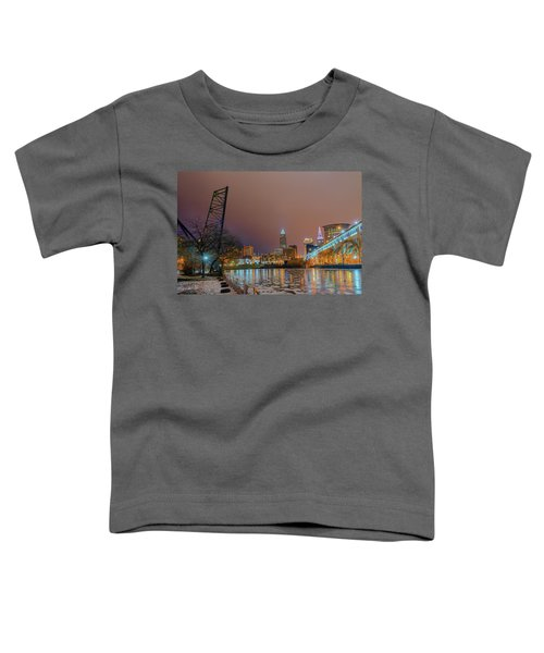 Winter In Cleveland, Ohio  Toddler T-Shirt