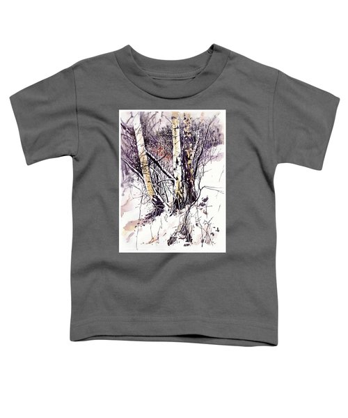Winter In The Forest Toddler T-Shirt
