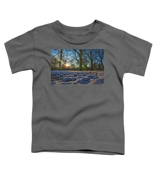 Winter In The Park Toddler T-Shirt