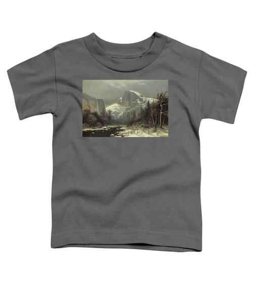 Winter In The Yosemite Valley Toddler T-Shirt