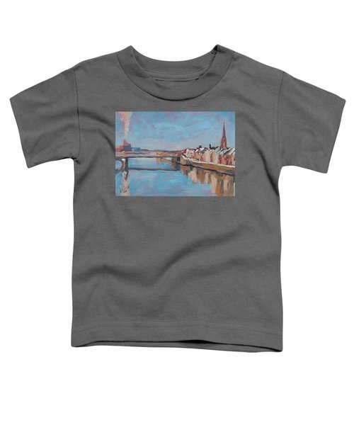 Winter In Wyck Maastricht Toddler T-Shirt