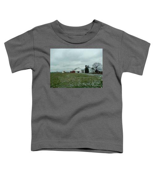 Winter Letting Go Toddler T-Shirt