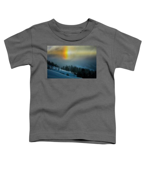 Toddler T-Shirt featuring the photograph Winter Light by Whit Richardson
