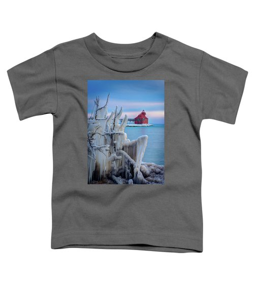Winter Lighthouse Toddler T-Shirt