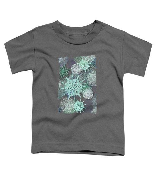 Winter Nostalgia Toddler T-Shirt by AugenWerk Susann Serfezi