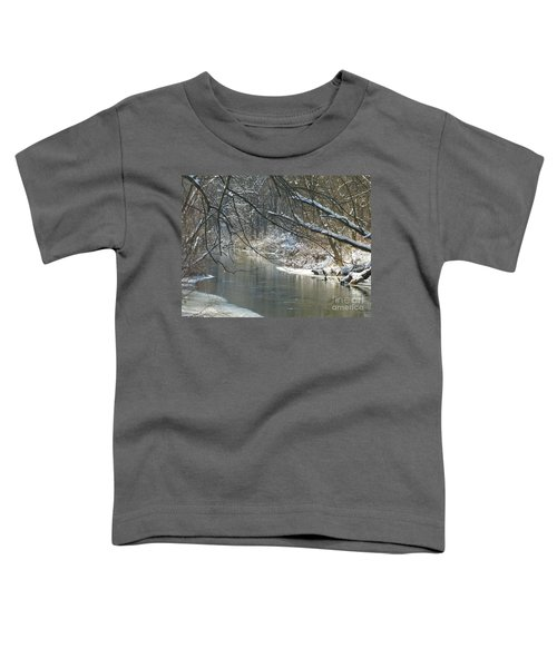 Winter On The Stream Toddler T-Shirt