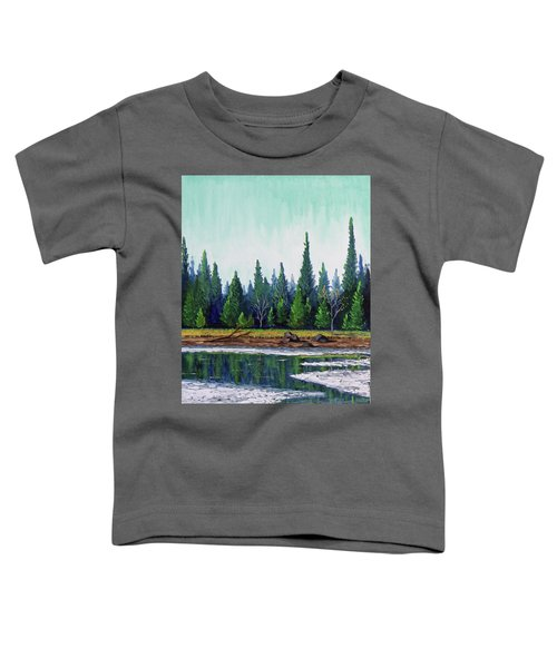 Winter Pond Toddler T-Shirt