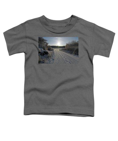 Winter Road Toddler T-Shirt