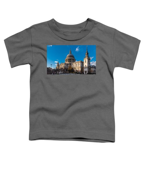 Winter Sun St Paul's Cathedral Toddler T-Shirt