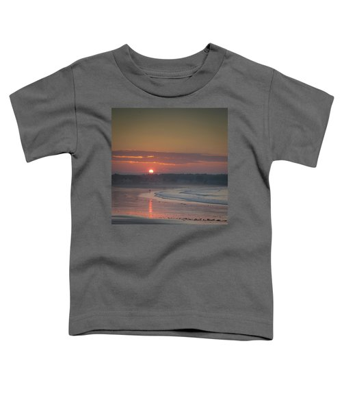 Winter Sunrise - Kennebunk Toddler T-Shirt