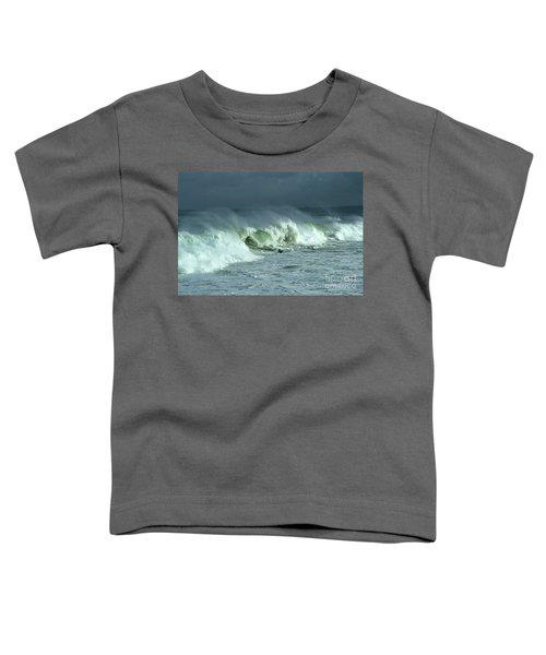 Winter Surf On Monterey Bay Toddler T-Shirt