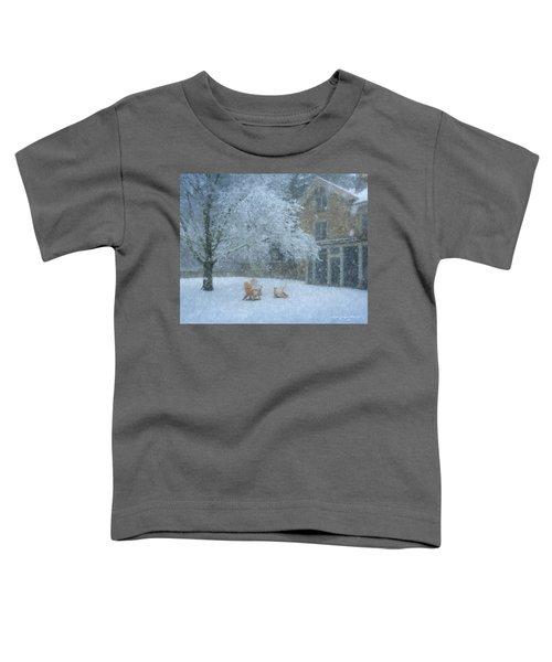 Winter Tea At Queset House Toddler T-Shirt
