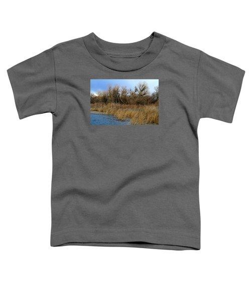 Winter Trees Along The Snake Toddler T-Shirt
